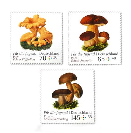 """Briefmarkenserie """"Für die Jugend"""" 2018"""