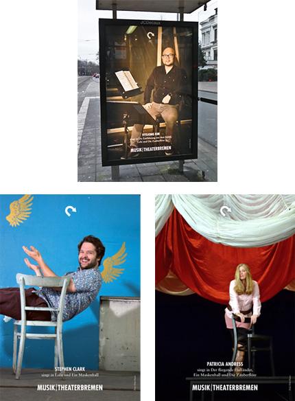 Ensemblefotos des Theater Bremen für die Spielzeit 18/19