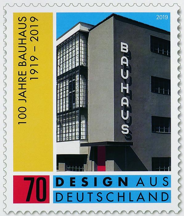 100jahre-bauhaus-briefmarke